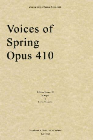 Voices Of Spring Op.410 - String Quartet - laflutedepan.com