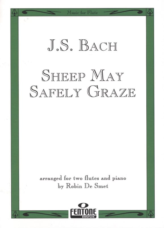 Sheep may safely graze - 2 Flûtes/piano - BACH - laflutedepan.com