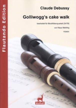 Golliwogg's CakeWalk - 4 Flûtes à Bec - DEBUSSY - laflutedepan.com