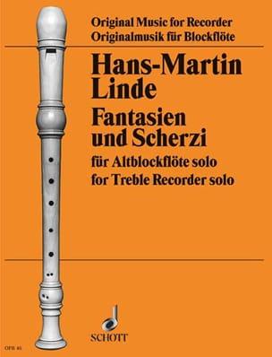 Fantasien und Scherzi Hans-Martin Linde Partition laflutedepan