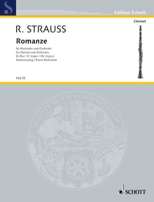 Romanze Es-Dur o. op. AV 61 -Klarinette Klavier laflutedepan