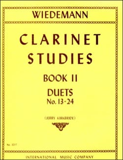 Clarinet Studies - Volume 2 Ludwig Wiedemann Partition laflutedepan