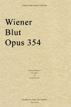 Wiener Blut Op.354 - String Quartet - laflutedepan.com