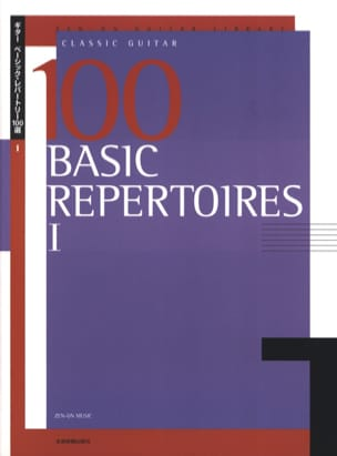 100 Basic Repertoire - Book 1 Partition Guitare - laflutedepan