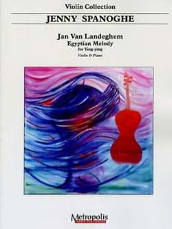 Egyptian melody for Ying-Ying Jan VAN LANDEGHEM Partition laflutedepan