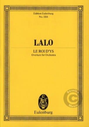 Le Roi d'Ys, Ouverture - LALO - Partition - laflutedepan.com