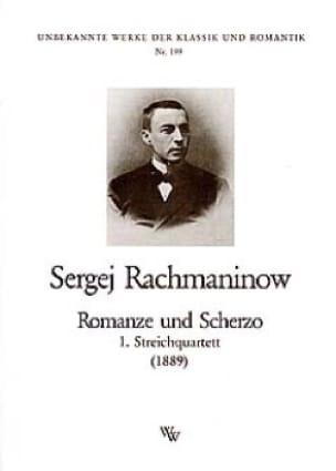 Romanze und Scherzo -Streichquartett - Stimmen - laflutedepan.com