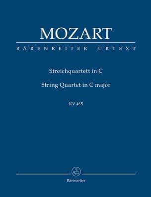 Streichquartett C-Dur, Kv 465. Urtext Der Neuen Mozart-Ausgabe laflutedepan