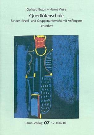 Querflötenschule - Lehrerheft Braun Gerhard / Wurz Hanns laflutedepan