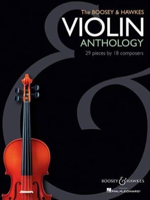 The Boosey & Hawkes Violon Anthology Partition Violon - laflutedepan