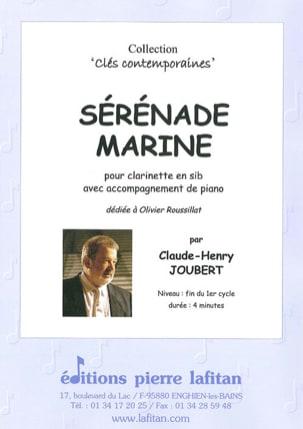 Claude-Henry Joubert - Marine Serenade - Clarinet - Partition - di-arezzo.co.uk