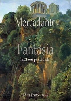 Fantasia Saverio Mercadante Partition Flûte traversière - laflutedepan