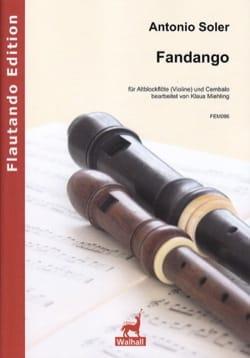 Fandango - Flûte à Bec Alto et Clavecin - laflutedepan.com