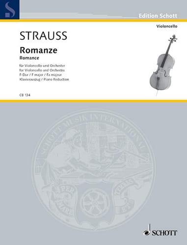 Romance en Fa Majeur Opus Av75 - Richard Strauss - laflutedepan.com