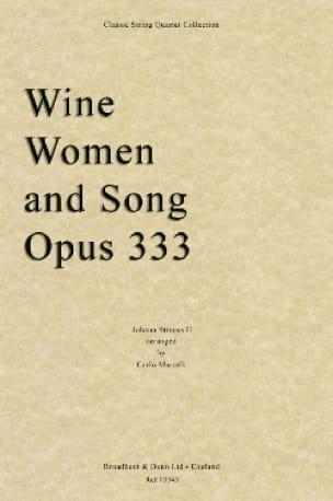 Wine, Women And Song - String Quartet - laflutedepan.com