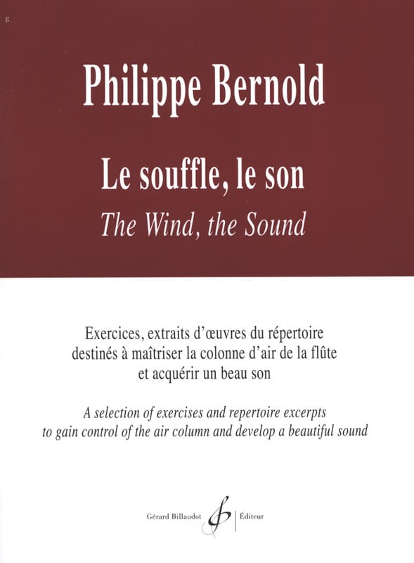 Le souffle Le son - Philippe Bernold - Partition - laflutedepan.com