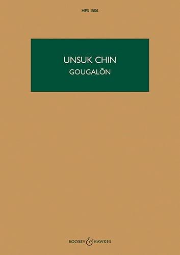 Gougalon - Unsuk Chin - Partition - Grand format - laflutedepan.com
