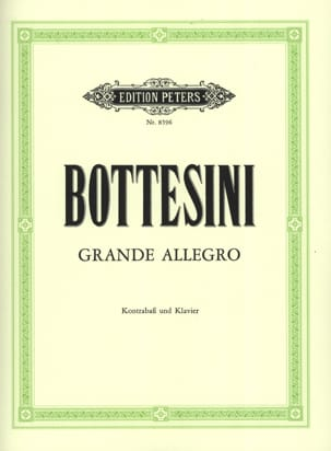 Grande Allegro BOTTESINI Partition Contrebasse - laflutedepan
