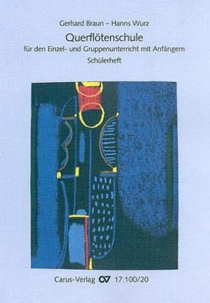 Querflötenschule - Schülerheft Braun Gerhard / Wurz Hanns laflutedepan