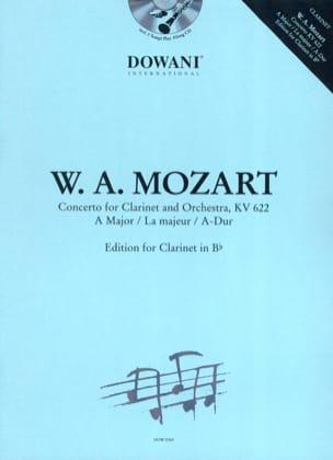 Concerto en la Maj. Kv 622 MOZART Partition Clarinette - laflutedepan