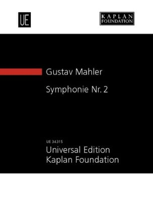 Symphonie N° 2 MAHLER Partition Petit format - laflutedepan