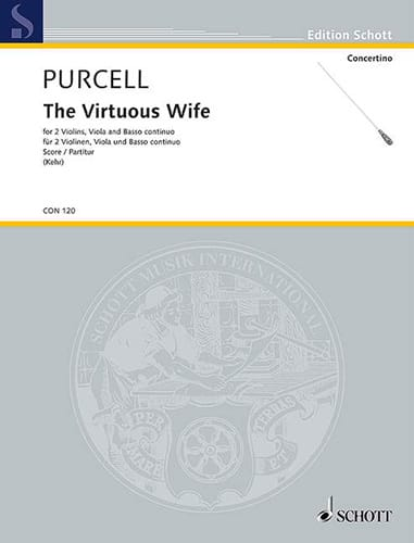 The Virtuous Wife - Score - PURCELL - Partition - laflutedepan.com