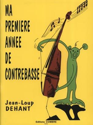 Ma 1ère Année de Contrebasse Jean-Loup Dehant Partition laflutedepan