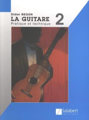 Méthode de Guitare Volume 2 Didier Bégon Partition laflutedepan