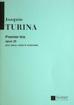 Trio n° 1 op. 35 -Parties - TURINA - Partition - laflutedepan.com