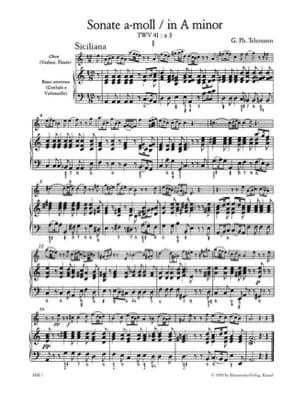 Sonaten - Bd. 2 - Flöte u. Bc Carl Philipp Emanuel Bach laflutedepan