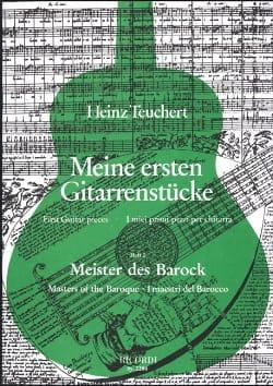 Meine Ersten Gitarrenstucke-Heft 2 : Meister Der Barock laflutedepan