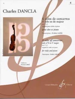 6e Solo Concerto en Do Majeur Op. 77 n° 2 DANCLA laflutedepan