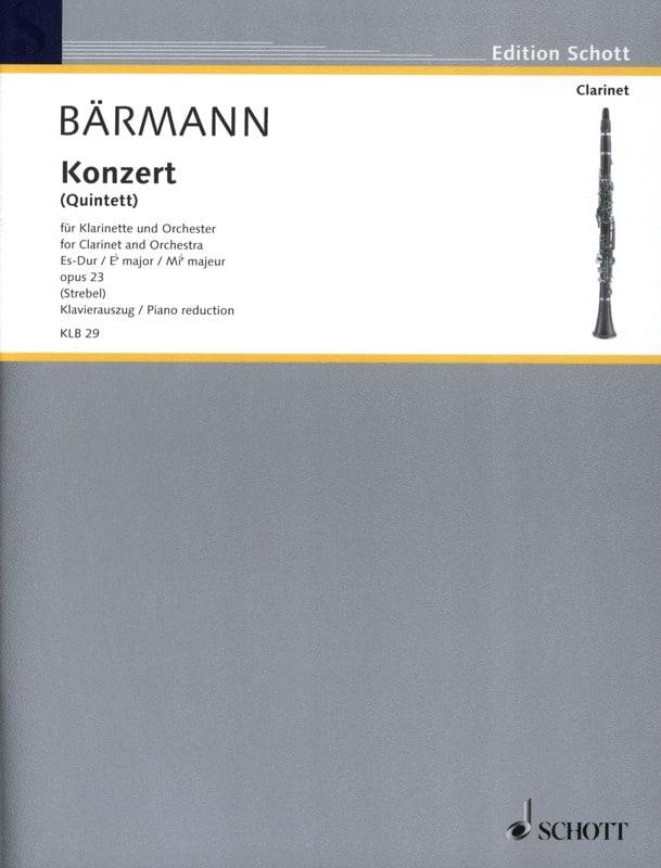 Klarinetten-Konzert Es-Dur op. 23 - laflutedepan.com