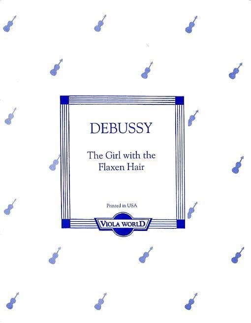 The girl with the flaxen hair - Viola - DEBUSSY - laflutedepan.com