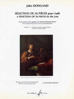 Sélection de 26 pièces pour luth - Volume 1 - laflutedepan.com