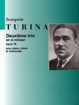 Trio n° 2 op. 76 en si mineur -Parties TURINA Partition laflutedepan