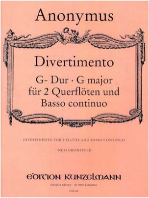 Divertimento G Dur - 2 Flöten und BC - Partition - di-arezzo.com