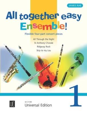 All Together Easy Ensemble! Volume 1 James Rae Partition laflutedepan