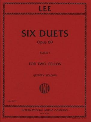 Six Duets Opus 60 - Book 1 Sebastian Lee Partition laflutedepan