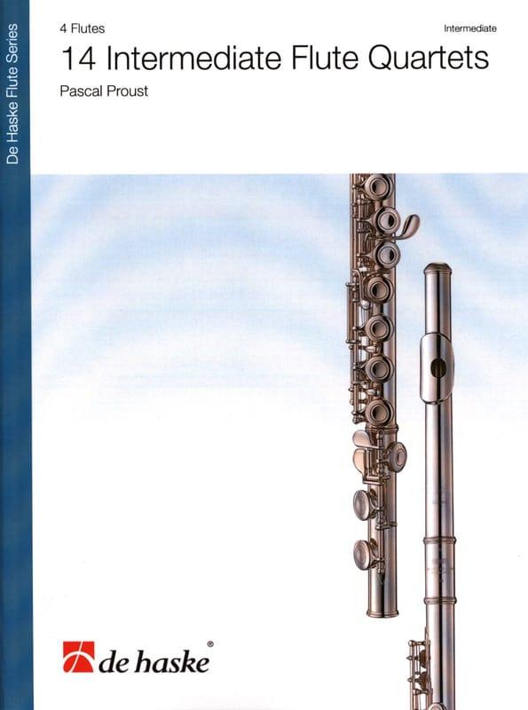 14 Intermediate Flute Quartet - Pascal Proust - laflutedepan.com