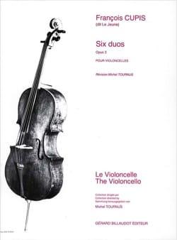 6 Duos opus 3 - François (dit Le Jeune) Cupis - laflutedepan.com