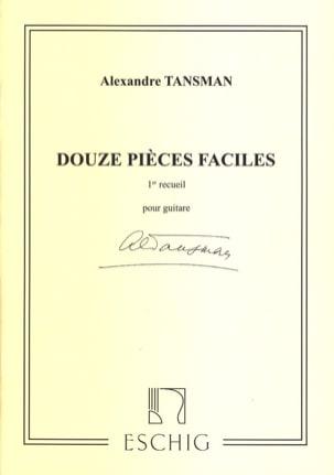 12 Pièces faciles - 1er recueil Alexandre Tansman laflutedepan