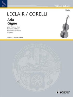 Aria // Gigue Leclair Jean-Marie / Corelli Arcangelo laflutedepan