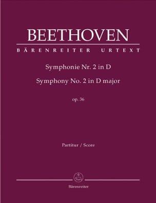 Symphonie Nr. 2 D-Dur op. 36 - Conducteur BEETHOVEN laflutedepan