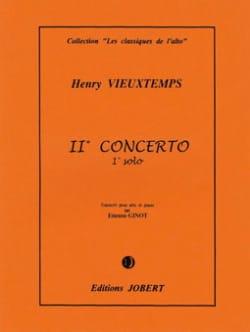 1er Solo du Concerto n° 2 - Alto - VIEUXTEMPS - laflutedepan.com