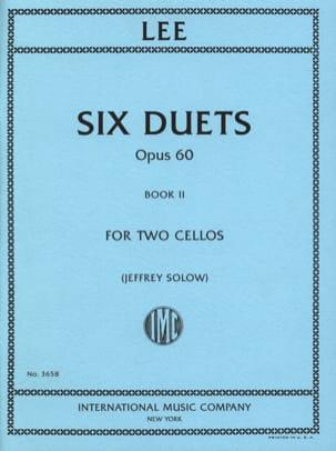 Six Duets Opus 60 - Book 2 Sebastian Lee Partition laflutedepan