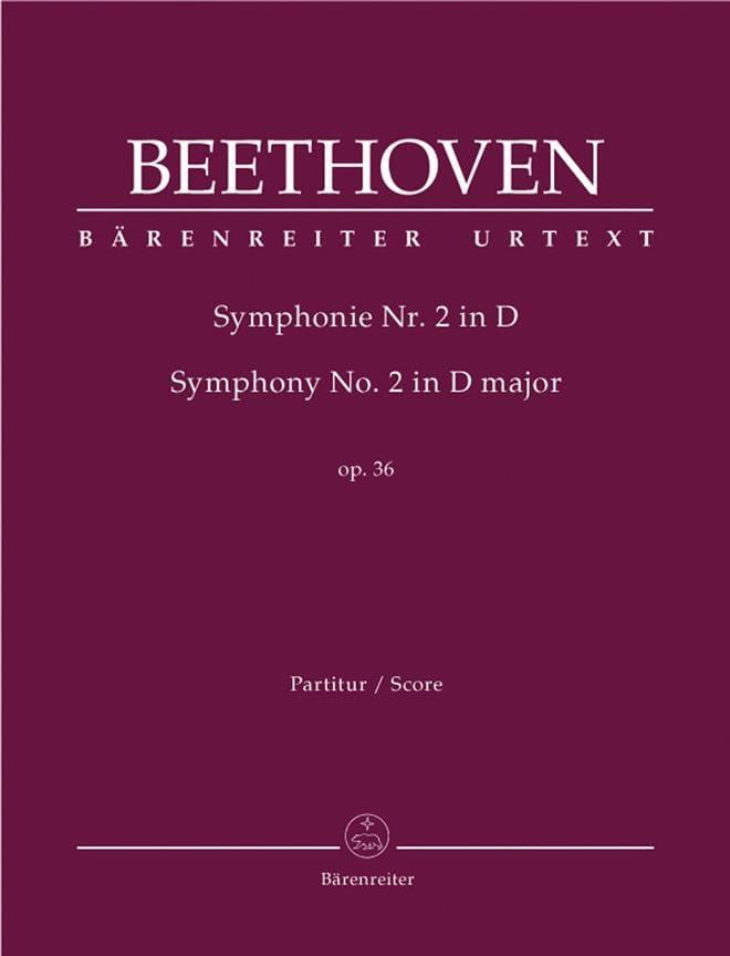 Symphonie Nr. 2 D-Dur op. 36 - Conducteur - laflutedepan.com