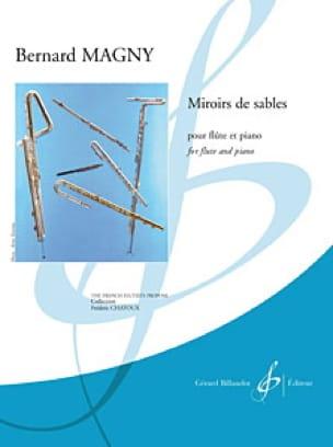 Miroirs de Sables - Bernard Magny - Partition - laflutedepan.com