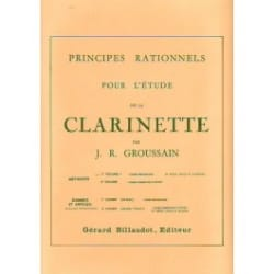 Principes rationnels - Volume 1 - Clarinette laflutedepan