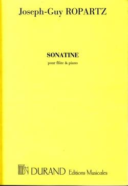Sonatine - Flûte et Piano Joseph-Guy Ropartz Partition laflutedepan